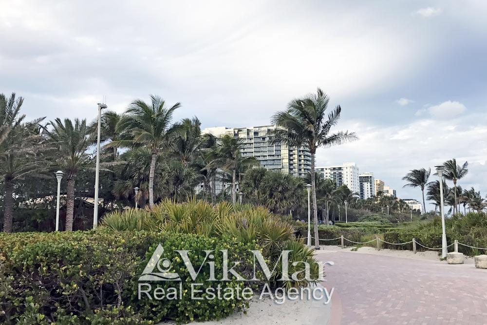 Парковый комплекс в Майами Бич