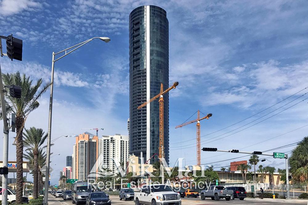 Porsche Design Tower Miami на завершающем этапе строительства