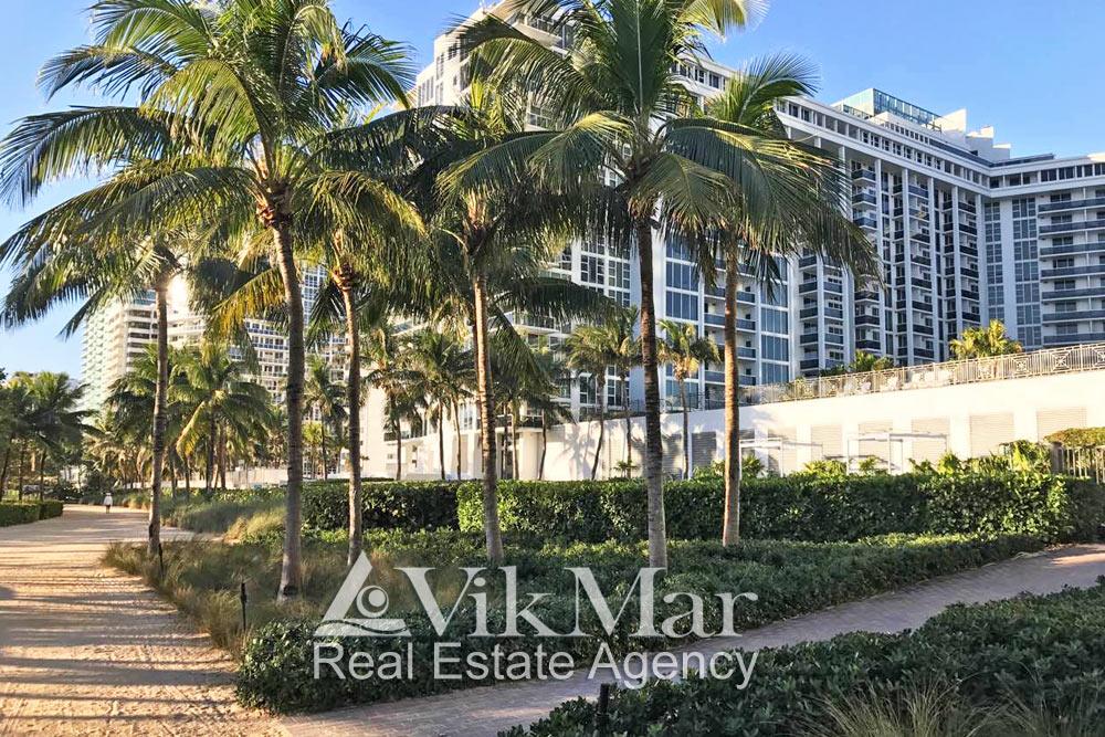 Elite resort complexes in Miami