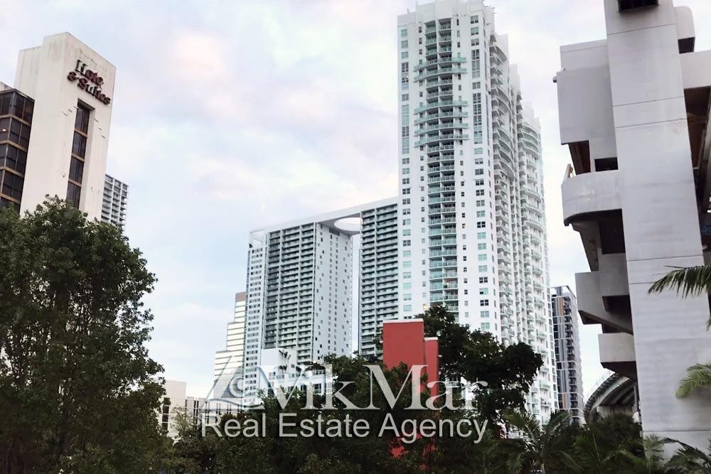 Район Брикелл (Brickell) в Майами