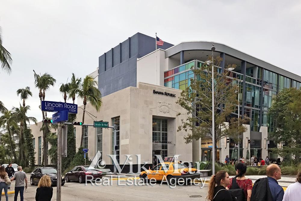 Архитектура Саут Бич и Ленокс Авеню в Майами