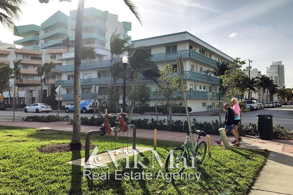 Отель Ocean Place на Оушен Драйв в Майами