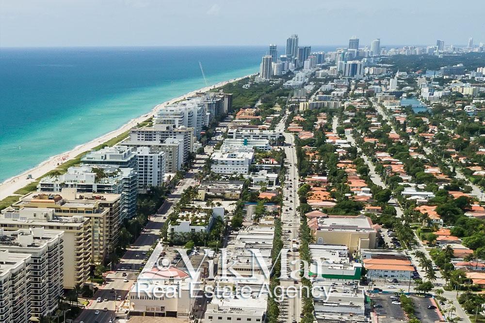 Проспект Коллинз Авеню в Майами Бич 2018