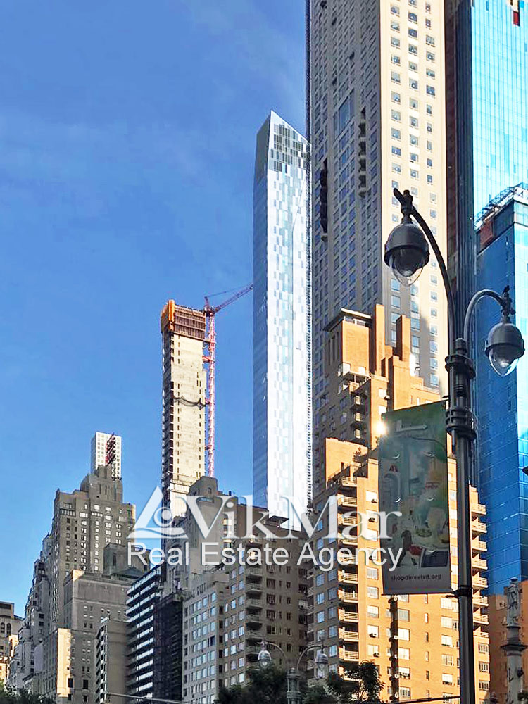 Небоскребы «Ряда Миллиардеров» в Нью-Йорке