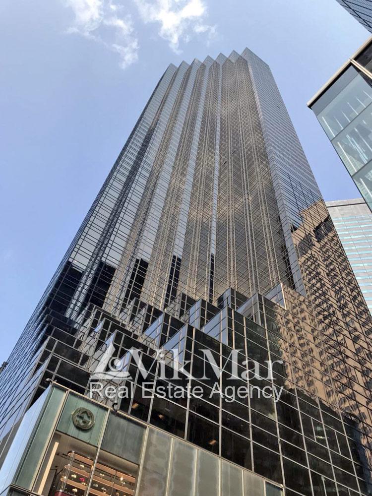 «Башня Трампа» на Пятой Авеню в Нью-Йорке