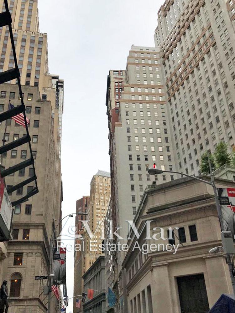 Здание «The Trump Building» на Wall Street в Нью-Йорке