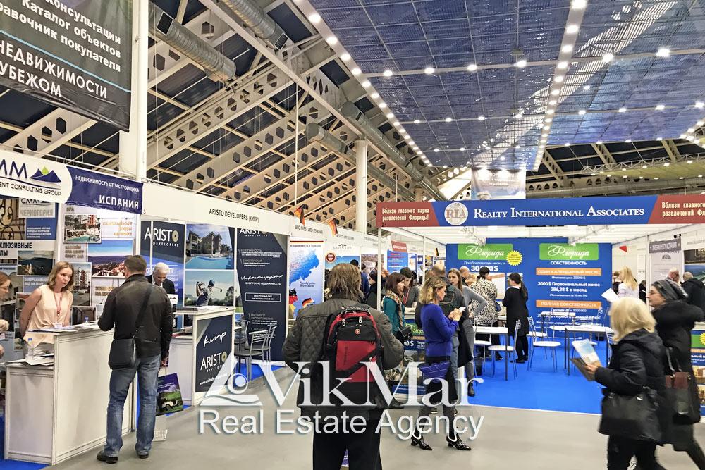 Экспозиция выставки «Moscow Overseas Property & Investment Show» 2019